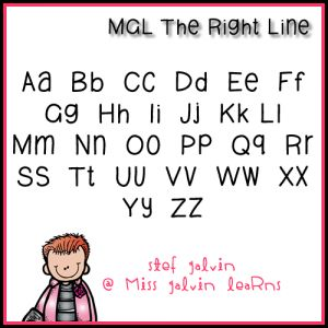MGL Fonts | Miss Galvin Learns