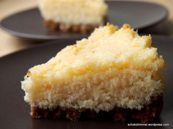 Saftige kleine Kokos-Tarte