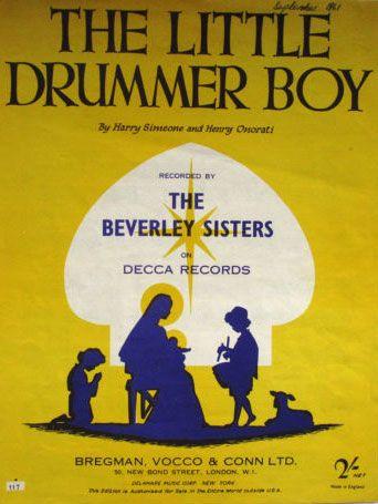 Beverley Sisters - Little Drummer Boy (1958)