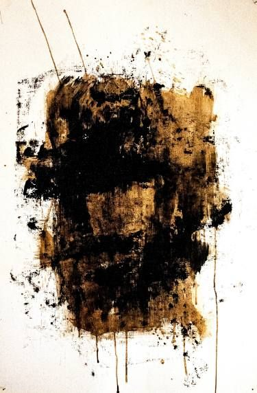 """CWC #10 Abstract expressionism painting from """"Coffee With Cardamom"""" series by Saatchi art artist Artur Mloian"""