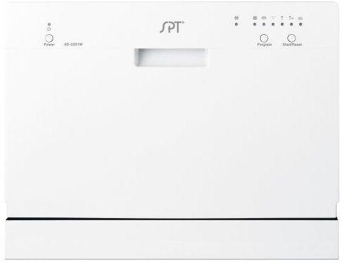 Amazon Com Spt Countertop Dishwasher White Appliances With