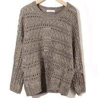 Batwing Sleeve Sweater