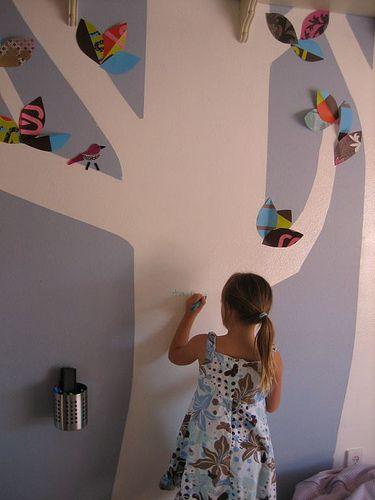 Boa ideia para o quarto da criançada.