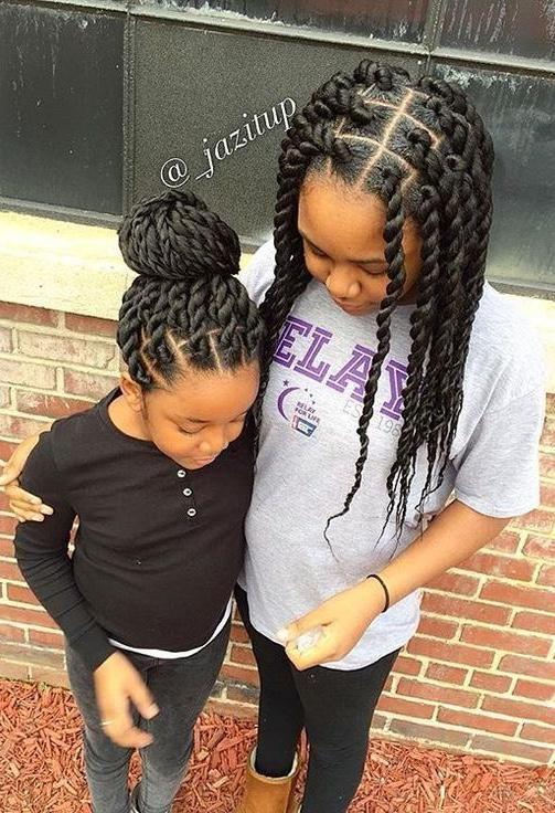 50 Best Hairstyles For African American Girls In School