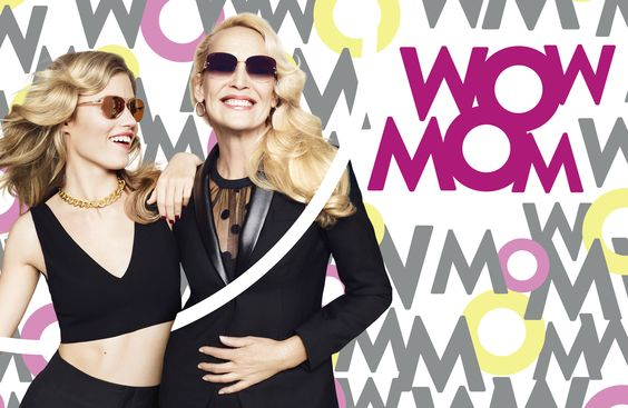 Georgia May Jagger and Jerry Hall :: Mother's Day Campaign