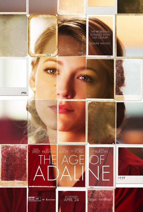 Pôster A Incrível História de Adaline - Os melhores pôsteres do cinema em 2015