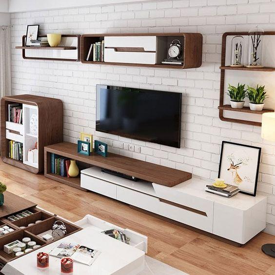 テレビボード インテリア ポイント 壁 コーディネート イメージ