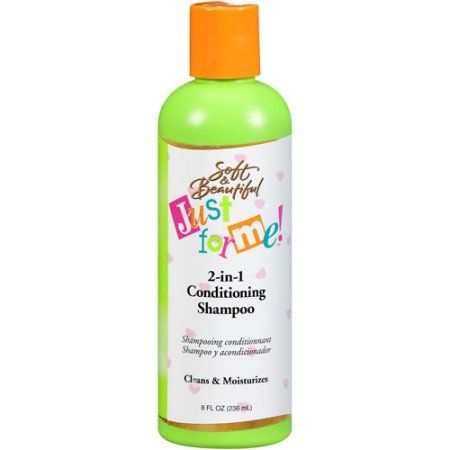 Just for Me! by Soft & Beautiful 2-in-1 Conditioning Shampoo, 8 fl oz