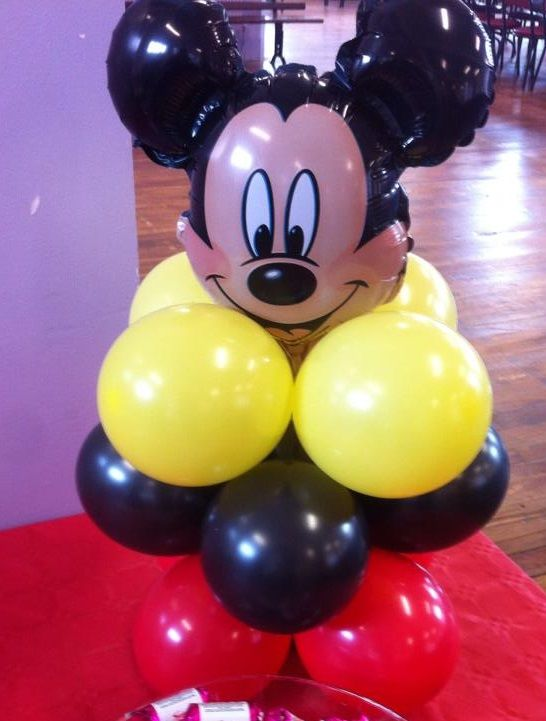 Mickey Mouse Table Decoration - contact us through the website for - website quotation