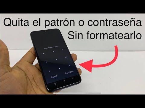 Cómo Desbloquear Mi Celular Sin Contraseña Sin Formatearlo Quitar Patrón Olvidado Youtu Contraseñas Para Celular Trucos Para Whatsapp Trucos Para Android