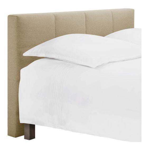 Venus cabecero de cama para somier de 160cm de tela - Cabecero cama tela ...