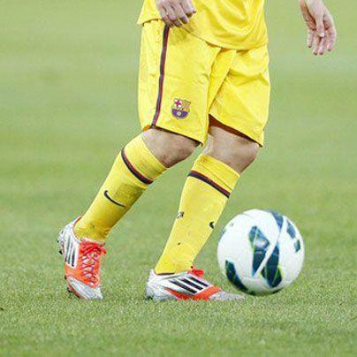Nuevas botas Adidas Adizero F50 de Leo Messi temporada 2012 2013