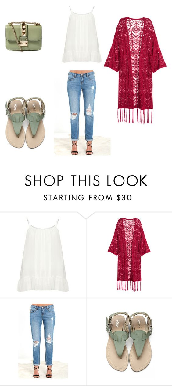 """Sin título #43"" by valeriact on Polyvore featuring moda, Zizzi, Billabong y Valentino"