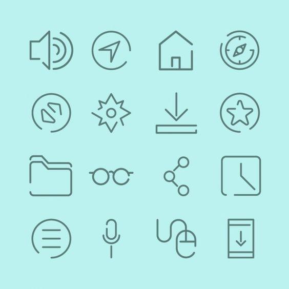 Sabías que Aquí tenéis los iconos más populares del mes en Flaticon