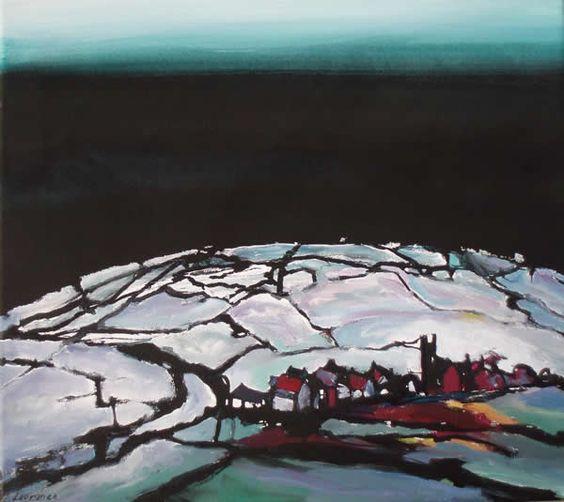 Martin Laurance - 'Morvah, West Cornwall', mixed media