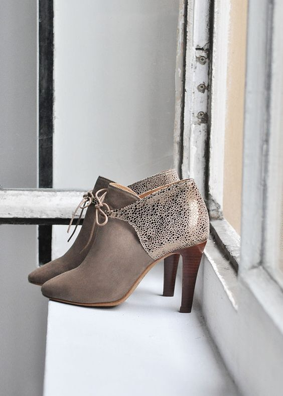 Modest Fall  Ankle Boots
