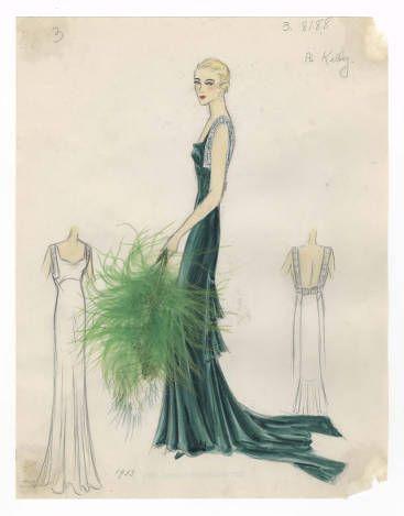 Bergdorf Goodman sketches : Kelly 1930-1935 :: Costume Institute