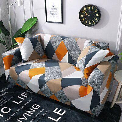 Corrigan Studio Box Cushion Loveseat Slipcover Sofa Covers Cushions On Sofa Loveseat Slipcovers