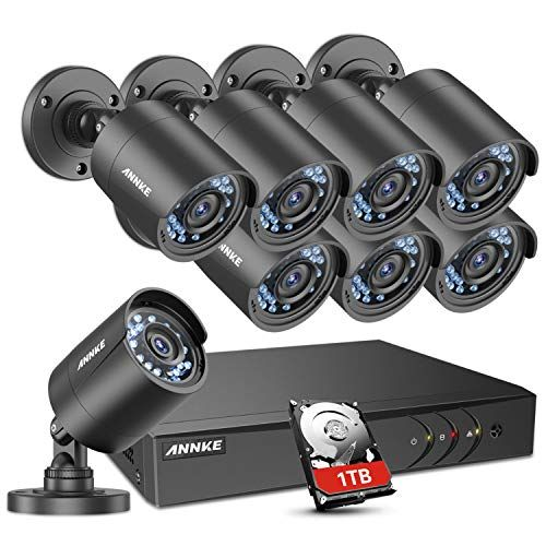 Annke Home Security Camera System 8 Channel 1080p Lite Dv Https Www Amazo Security Cameras For Home Home Security Camera Systems Best Home Security Camera