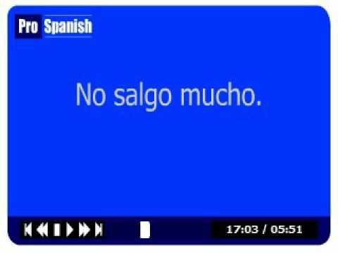 *New* Learn Spanish - Verbs and Tenses Lesson 4 - Irregulars - YouTube