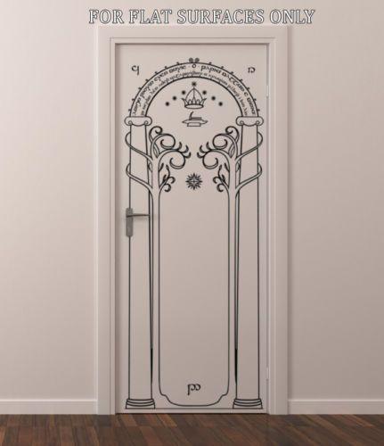 Porte de hobbit seigneur des anneaux and le d cor d 39 art for Porte hobbit