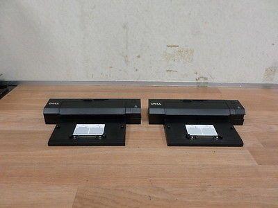 LOT OF 2 Dell E Port Plus Docking Station Latitude E6420 E6500 E6520 E6410