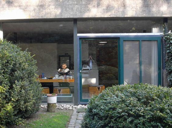 woonhuis juliaan lampens, eke, belgium, 1960, architect: juliaan lampens
