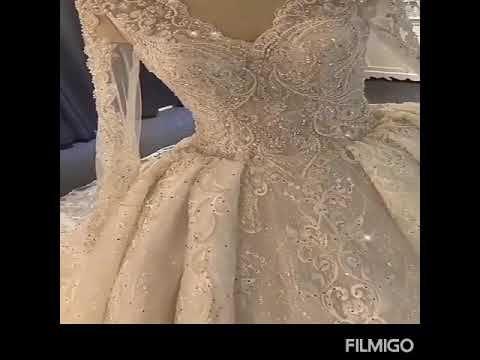 أجمل تشكيلة من فساتين زفاف الفستان الأبيض روعة لا تفوتكم ج1 Youtube Wedding Dresses Wedding Dresses Lace Dresses