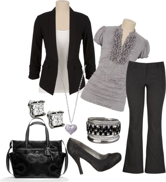 """Cute for Work"" by ashley-braun on Polyvore"