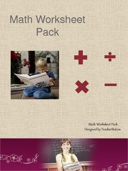 A 22 page math worksheet pack:Addition sums 0-10, 0 -20, 0-30, 0 ...