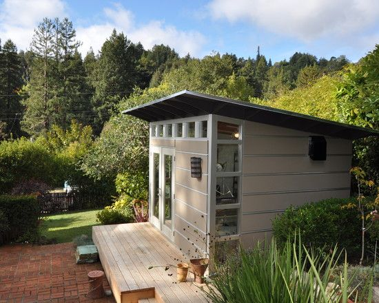 Shed roof paint for cool garden shed designs modern shed for Shed roof house designs modern