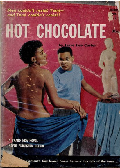 Hot Chocolate, paperback book cover