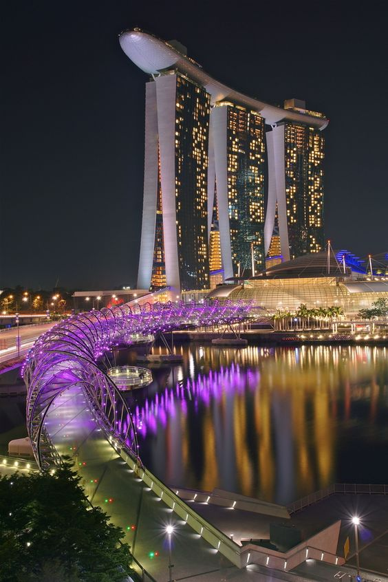 Marina Bay Sands - Singapore This looks like a fun place! http://ProGoldPeople.com
