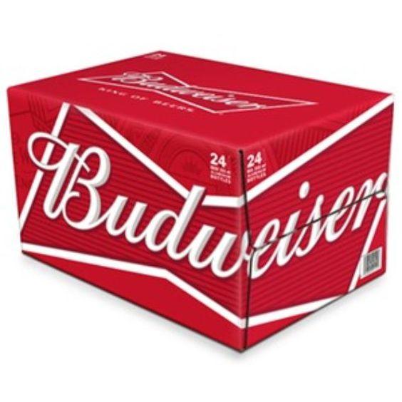 Bia Budweiser 5% - Chai nhôm 330ml - Bia Nhập Khẩu