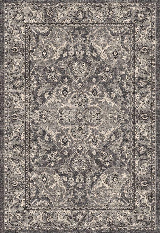 Kas Oriental Rugs Pesha 7218 Slate