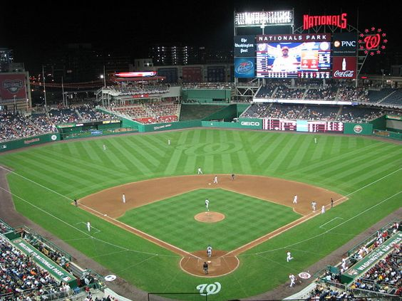 Nationals Park Beautiful Park Terrible Club Seats Seriously Club Prices And No Waitstaff Nationals Park Baseball Park Washington Nationals Baseball