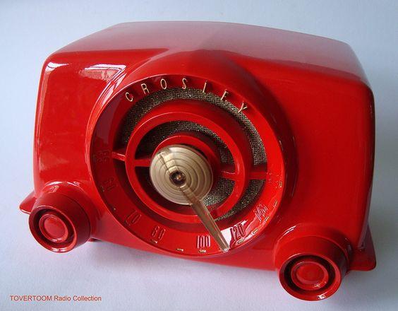 CROSLEY Tube Radio Model 11-101U (USA 1951) by MarkAmsterdam, via Flickr