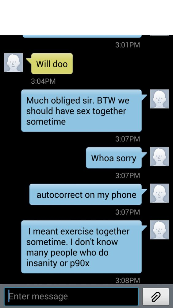 Major Freudian Slip - Damn You Auto Correct!