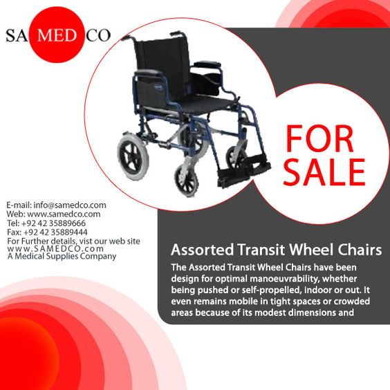 The Assorted Transit Wheel Chairs have been design for optimal manoeuvrability, whether being pushed or self-propelled, indoor or out. It even remains mobile in tight spaces or crowded areas because of its modest dimensions and compact frame. Plus, thanks to it's single crossbar system, compactness and quick release rear wheels axles, the Assorted Transit Wheel Chairs are easy to handle, transport and store. Simply take off the rear wheels and fold it away.
