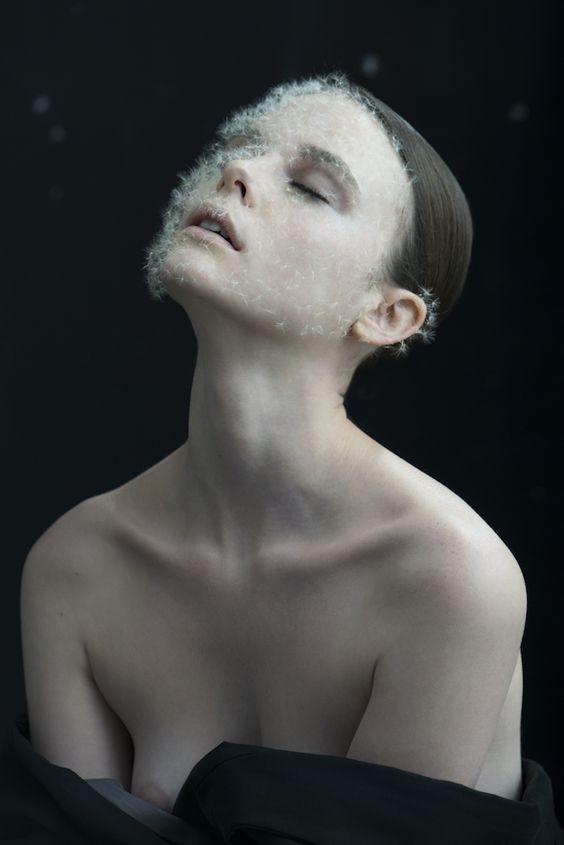 Vegetal artist Duy Anh Nhan Duc collaborated with photographer Isabelle Chapuis