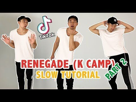 Renegade Renegade Renegade Part 2 Popular Tik Tok Dances Step By Step Tutorials Youtube Dance Steps Renegade Dance Videos