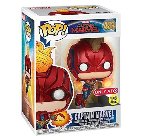 Captain Marvel Goal Unique Pop