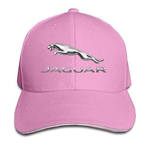 Mkcook Unisex Jaguar Logo Adjustable Sandwich Peaked Baseball Caps Hats Caps Hats Baseball Cap Cap