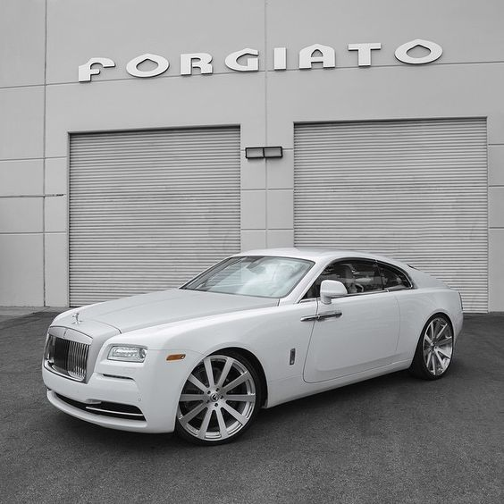 Luxury Car Obsession: #Rolls #Royce #Wraith #Forgiato Rims #Custom #Stance