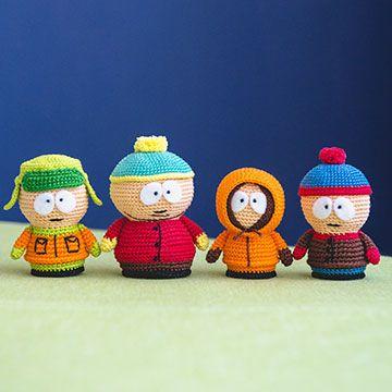 Amigurumi Cartman : South park collection amigurumi pattern by AradiyaToys ...