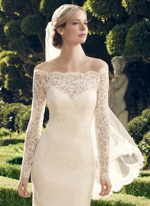 robe de mariage civil longue