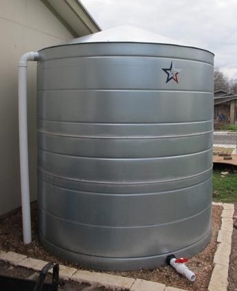 Galvanized Steel Water Storage Cistern Tank 3750 Gallon Water Storage Metal Water Tank Galvanized Steel