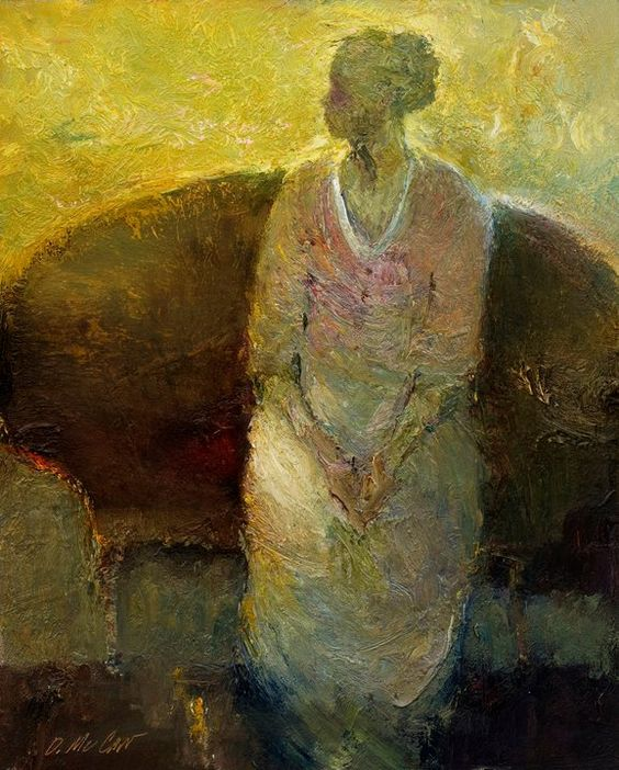 Maher Art Gallery: Dan McCaw 1942 | American expressionist painter