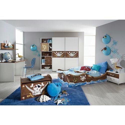 Kinderzimmer Piraten 4 Teiliges Schlafzimmer Schrankbett Nako Desk 548 Best In 2020 Kinder Zimmer Kinderzimmer Schlafzimmer Schrank