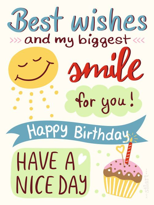 Happy Draw Birthday Smile Happy Birthday Quotes Best Birthday Quotes Happy Birthday Wishes Quotes